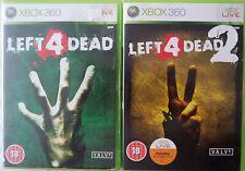Left 4 Dead et LEFT FOR DEAD jeu pour Xbox 360 Pal UK