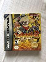 SEALED Boktai 2 Solar Boy Django GBA Gameboy Advance RARE FAIR CONDITION