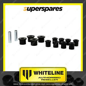 Whiteline Rear Spring kit for GREAT WALL V200 V240 K2 WINGLE 3 5 Premium Quality