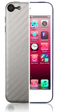Skinomi Carbon Fiber Silver Skin+Clear Screen Protector for Apple iPod 5G 16GB