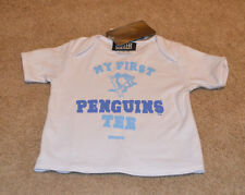 Pittsburgh Penguins My First Penguins Tee 6-9 Months NEW NHL baby shirt kids