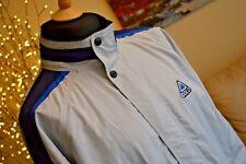 "ODLO Vintage Ski Jacket Retro Lightweight Light Grey Blue Mens Sz M 48 50"" Chest"