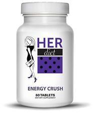 HERdiet Energy Crush For Women Appetite Suppresant Fat Burner Diet Tablets