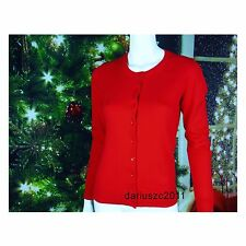 NWT GAP  WOMEN'S SIZE S PURE RED CARDIGAN  SWEATER GREAT GIFT FOR CHRISTMAS