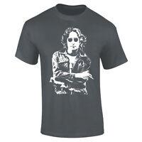 Mens John Lennon The Beatles Iconic Rock T-shirt S-XXL