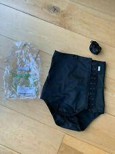 Macom Abdominal Compression Garment Black  - Size M- Side Fastening