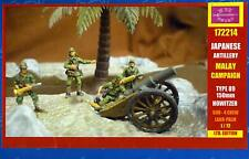BUM Models 1/72 JAPANESE ARTILLERY IN THE MALAY CAMPAIGN Figure Set