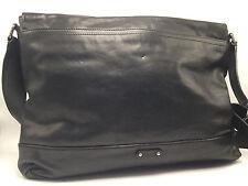 1D2 Frye James Messenger Fashion Black Casual Leather Crossbody Men Bag $548