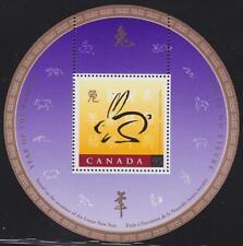 CANADA Souvenir Sheet 1998 - #1768 - Year of the Rabbit - MNH