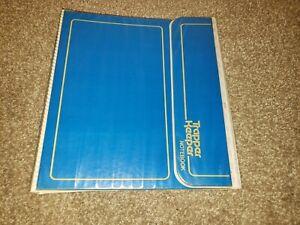 Vintage 1980's MEAD TRAPPER KEEPER 3 Ring BINDER Folder Portfolio Blue 29096