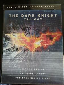 The Limited Edition Boxset The Dark Knight Trilogy