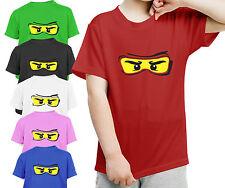 Lego Ninjago Inspired Kids Childrens Boys Girls T Shirt GIFT Present Birthday