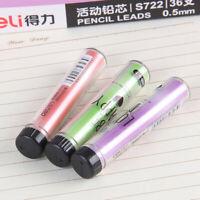 20Pcs/Box HB 0.7mm Automatic Mechanical Pencil Leads Refills Tube Writing 60mm
