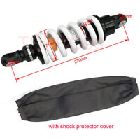 "270mm 10.6"" Rear Shock 1000LBS Dirt Pit Bike SDG SSR Motorcycle ATV Shock Cover"