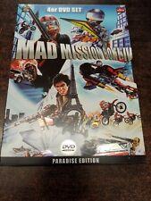 Mad Mission Box I - IV 1 - 4 Paradise Edition Steelcase DVD