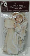 Set of 6 Kathy Lawrence Angel Children Ornaments