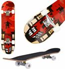 """Trick Complete Skateboard 31""""x 8"""" Double Kick Concave Skateboards Gift SAVE@US#"""