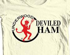 Underwood Deviled Ham T-shirt funny Family Guy Spam retro 80's 100% cotton tee