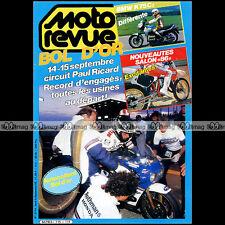 MOTO REVUE N°2715 BMW K 75 C SUZUKI RM 250 125 YAMAHA YZ KTM 80 MX BOL D'OR 1985