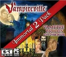 Immortal 2 Pack: Vampireville/Vampire Brides: Love Over Death (PC, 2011)