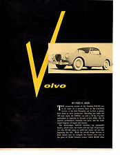 1955 VOLVO SPORT  ~  NICE ORIGINAL 3-PAGE ARTICLE / AD