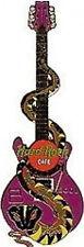 Hard Rock Cafe NAGOYA 2001 SNAKE GUITAR Series PIN Zodiac Year of the #6093