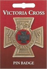 Victoria Cross Lapel Badge. VC Army Medal/Award History Bravery Gallentry Heroes