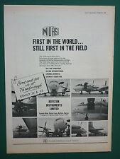 9/1966 PUB ROYSTON AVRO 748 BKS MIDAS AIRBORNE FLIGHT DATA RECORDING SYSTEM AD