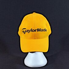 Taylormade Golf One Size Fits All Yellow Strapback Adjustable Baseball Hat Cap
