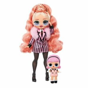 New - LOL Surprise OMG Winter Chill Big Wig & Madame Queen Doll 25 Surprises