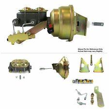 "70-81 Chevy Camaro FW Mount Power 11"" Single Brake Booster Kit Disc/Disc LS LSX"
