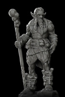 Firbolg Miniature for DnD Pathfinder or any RPG