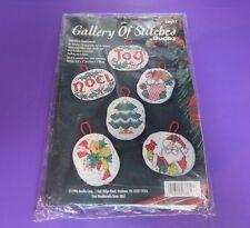 Gallery of Stitches Bucilla Season's Sentiments Cross Stitch Ornament Kit #33617