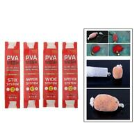 PVA Karpfen Fischköder Net Wasserlösliche Nachfüllung Strumpf Mesh Bag für
