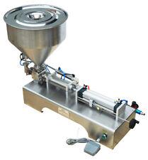 110V 30-300ml Paste Liquid Filling Machine for Shampoo 304 Stainless Steel
