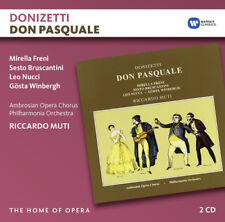 Gaetano Donizetti : Donizetti: Don Pasquale CD (2016) ***NEW***