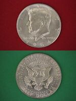 MAKE OFFER $5.00 Face Value 90% Silver 1964 John Kennedy Half Dollars Junk Coins