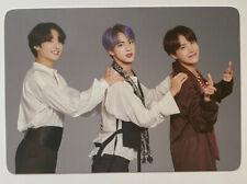Kpop BTS Magic Shop Japan Unit Jin, J-Hope, Jungkook 7/8 Official Photocard