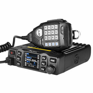 Anytone Dual-Band VHF/UHF Mini Mobile Radio Ham Transceiver Walkie Talkie 25W