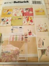 Butterick Pattern B5767 - Sewing Room Wall Hanging Ironing Board Organizers NEW