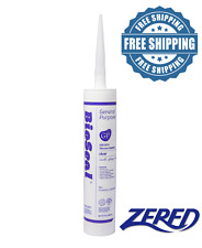 Zered™ BioSeal Silicone Sealant Ge neral Purpose 10.1oz - Clear
