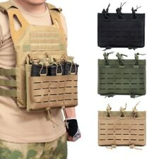 Outdoor Paintball Magazine Pouch Bag Open Top Mag Holder Molle Pouch Bag Holster