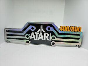 Atari 400/800 display (Atari show it off) perfect for gameroom or shelf
