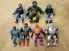 Vintage He-Man Masters of the Universe MOTU Figure Lot of 7 Snake Face Skeletor