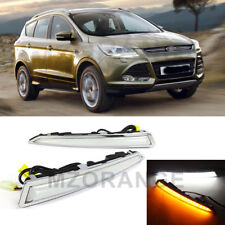 For Ford Kuga Escape 2013-16 Daytime Running LED DRL Light Fog Lamp Turn Signal