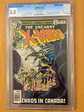 Uncanny X-Men #120 – First (Cameo) Appearance of Alpha Flight! – CGC 3.5
