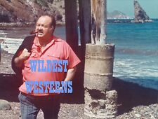 WILLIAM CONRAD Rare PHOTO Catalina Island CANNON beach n pipe pic