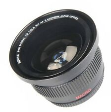 Bower 0.42x Wide Angle Fisheye Lens for Olympus Pen E-P5 with 17mm Lens