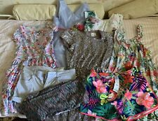 Girls Summer Bundle - Dresses And Shorts 11-12 Years