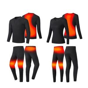 Motorcycle Jacket Smart Heating Motorcycle Suit USB Underwear Thermal Heated Set